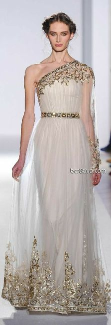 Tu vestido de novia con inspiración en diosas griegas 18