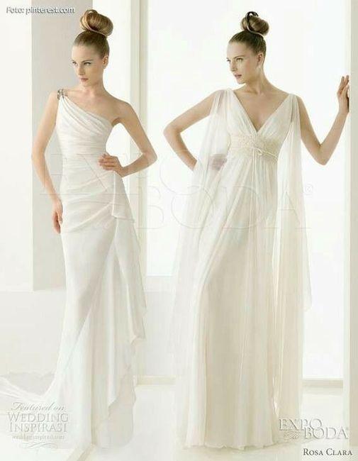 Tu vestido de novia con inspiración en diosas griegas 19