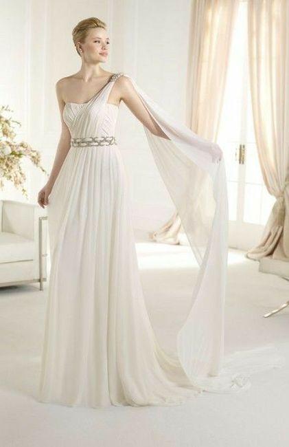 Tu vestido de novia con inspiración en diosas griegas 21