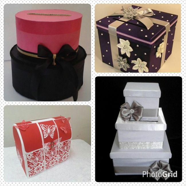 Cajas para regalo de sobre foro manualidades para bodas - Manualidades regalo boda ...