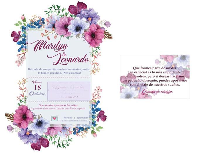 Invitaciones digitales e información para los invitados 1