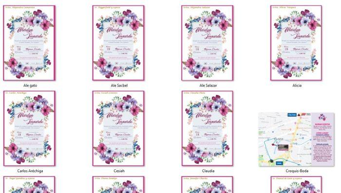 Invitaciones digitales e información para los invitados 6