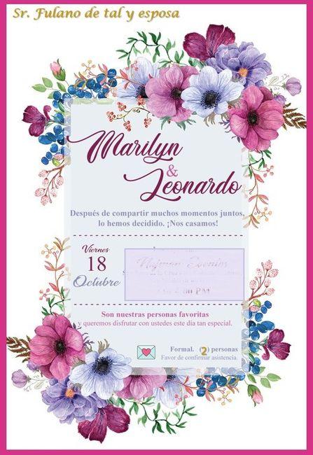 Invitaciones digitales e información para los invitados 5