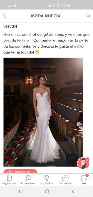 Haz screenshot y descubre tu vestido - 1