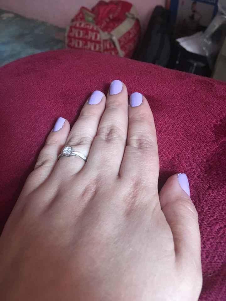 Lunes de presumir su anillo - 1