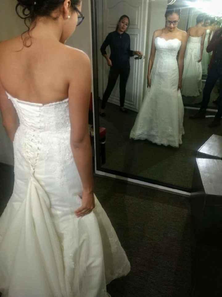 Mi vestido!! - 2