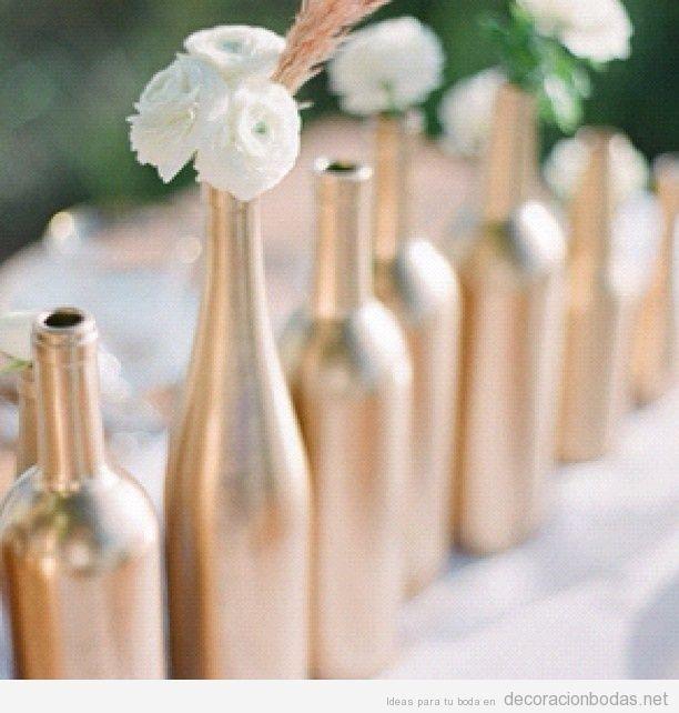 Mis centros de mesa diy vintage botellas y velas foro - Botellas con velas ...
