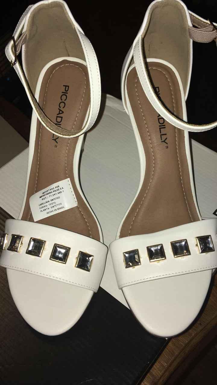 Llegaron mis zapatos para la boda civil - 1