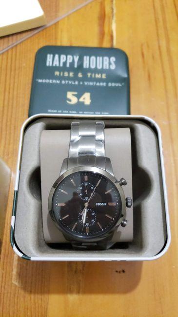 Cuándo entregar el reloj de compromiso... help 1