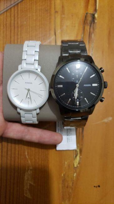 Cuándo entregar el reloj de compromiso... help 2
