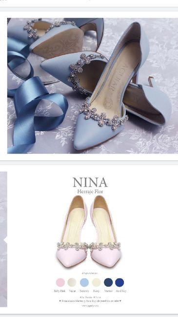 Zapato boda azul 💎 6