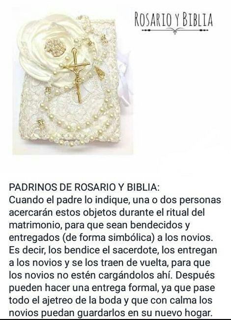 Matrimonio En La Biblia Significado : Biblia y rosario para bodas boda anillos en