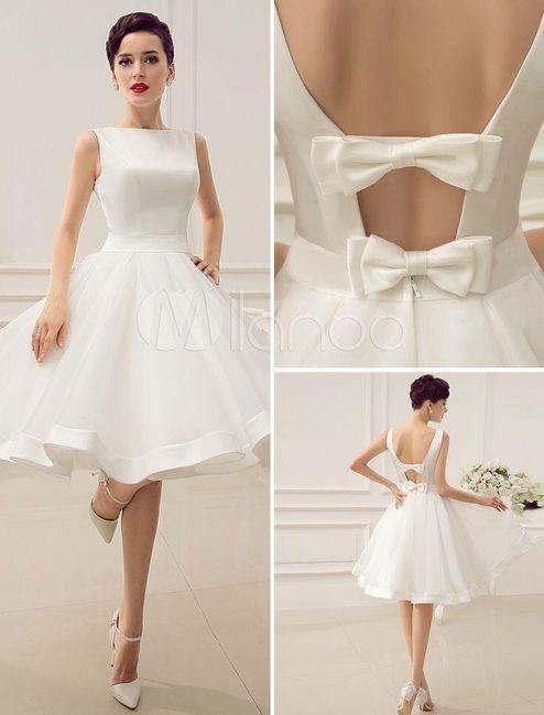 vestidos para boda civil - foro moda nupcial - bodas.mx