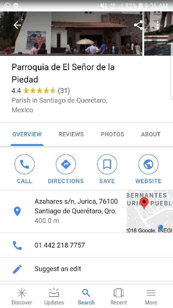 Novios que nos casamos el 26 de Octubre de 2019 en Querétaro - 1