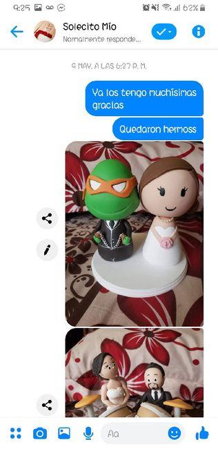 Muñecos para pastel personalizados 2