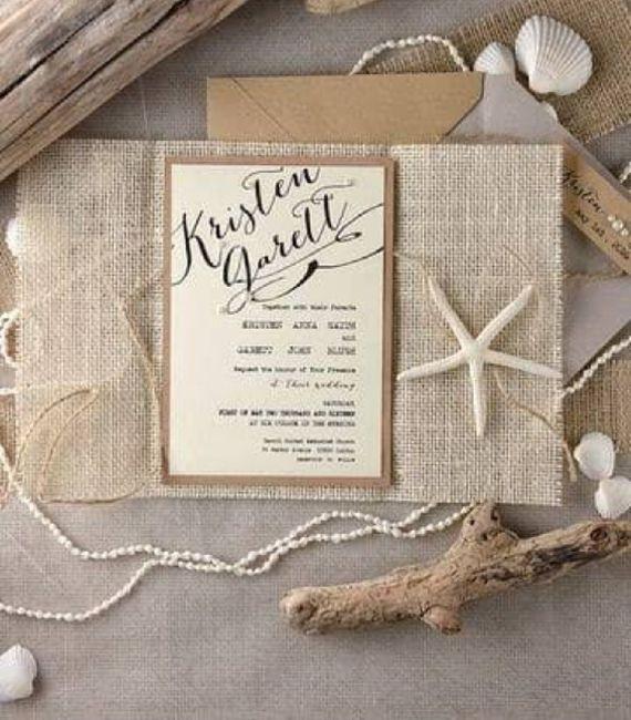 Ideas de invitaciones/ boda en la playa 49