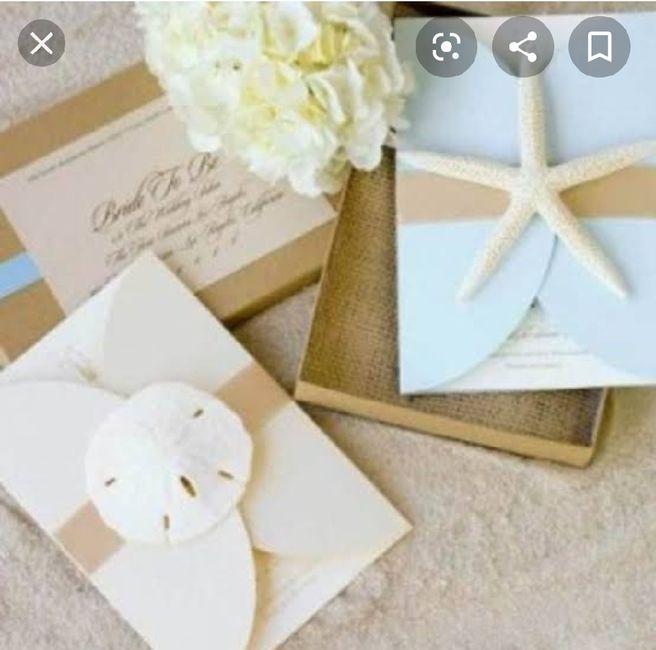 Ideas de invitaciones/ boda en la playa 53
