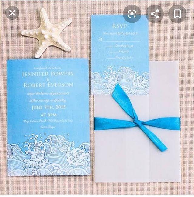 Ideas de invitaciones/ boda en la playa 54