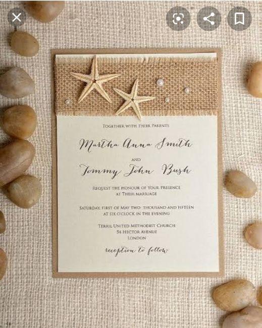 Ideas de invitaciones/ boda en la playa 55