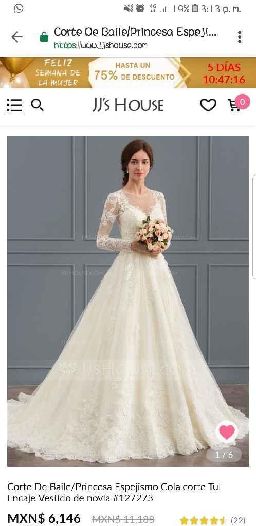 Te cuento de mi proveedor de vestido de novia - 1
