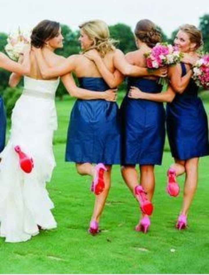 Damas en azul - 2