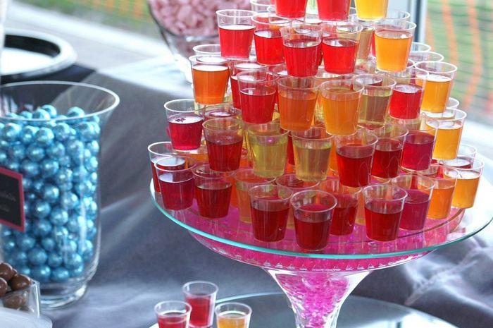 Cómo hacer gelatinas con alcohol
