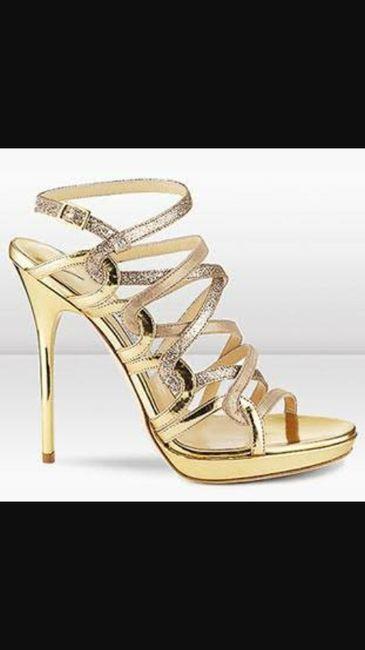 88b19248793bd Dorado zapatillas para novia - Foro Moda Nupcial - bodas.com.mx