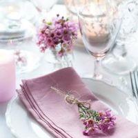 Octubre rosa. centros de mesa - 2