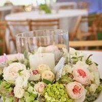 Octubre rosa. centros de mesa - 3