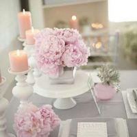 Octubre rosa. centros de mesa - 4