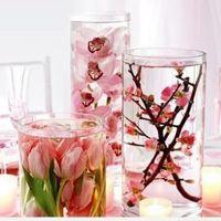 Octubre rosa. centros de mesa - 5