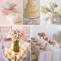 Octubre rosa. centros de mesa - 6