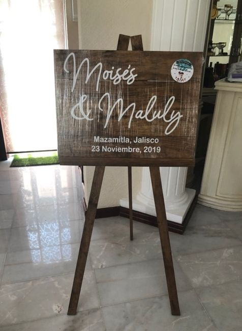 Letreros e invitaciones para boda civil, listos!! 5