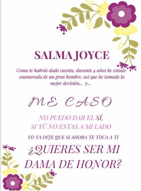 fb0ac5169 Invitaciones para mis damas - Foro Manualidades para bodas - bodas ...