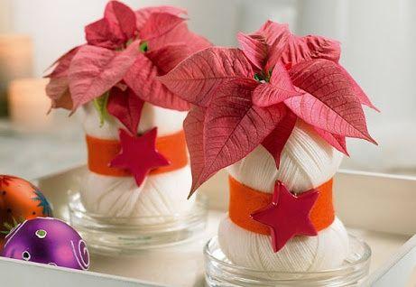 Centros de mesa diciembre foro manualidades para bodas - Centros de navidad originales ...