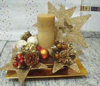 Centros de mesa diciembre foro manualidades para bodas - Como hacer centros navidenos ...