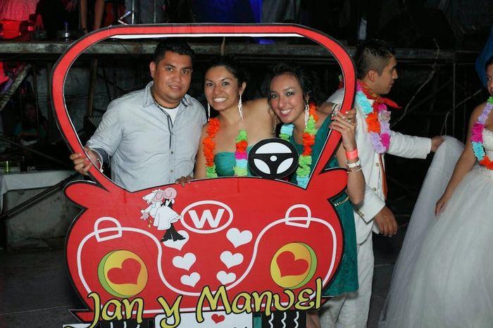 Marco de fotos carro - Foro Manualidades para bodas - bodas.com.mx