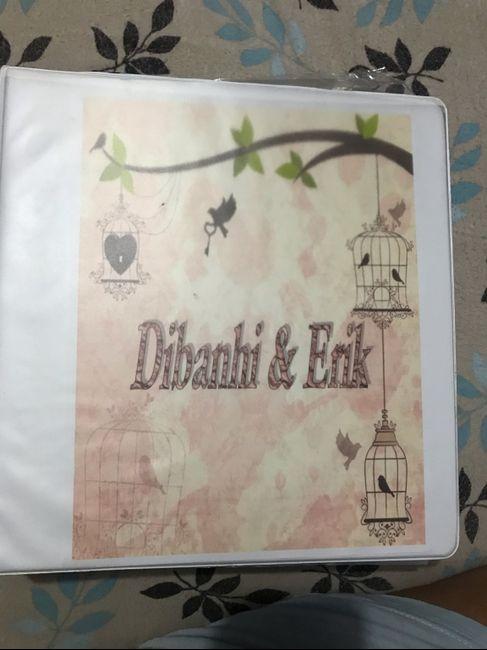 Carpeta de bodas para organizar 8