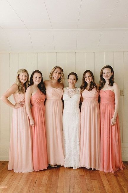 184e7e88c8 Vestidos rosa palo para damas - Foro Moda Nupcial - bodas.com.mx