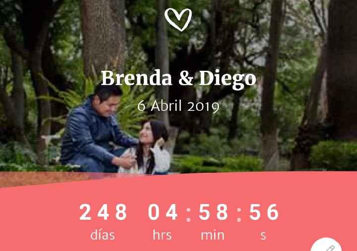 Mi número mágico.. Brenda y Diego - 1