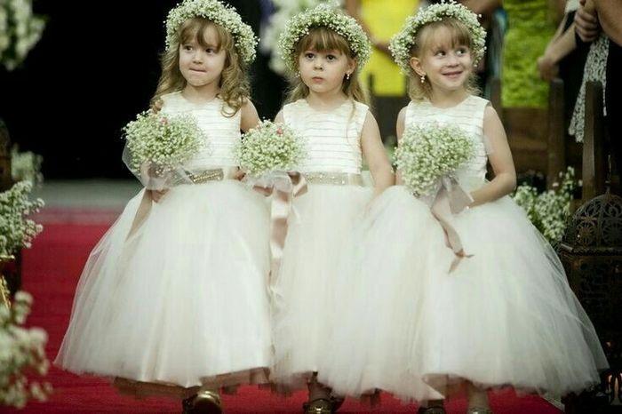 c59645cf7 Vestidos para mis pajecitas! - Foro Moda Nupcial - bodas.com.mx