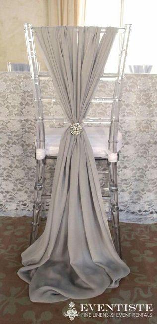 Arreglo para sillas foro organizar una boda for Sillas para novios
