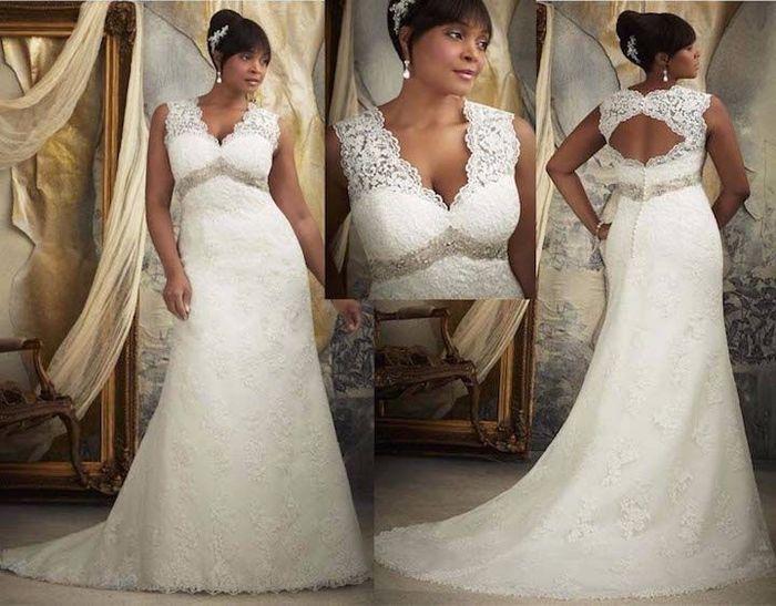 5 imperdibles tips para escoger vestidos de novia para gorditas