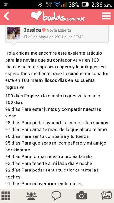 100 Frases Para 100 Dias Cuenta Regresiva Foro Bodas Com Mx