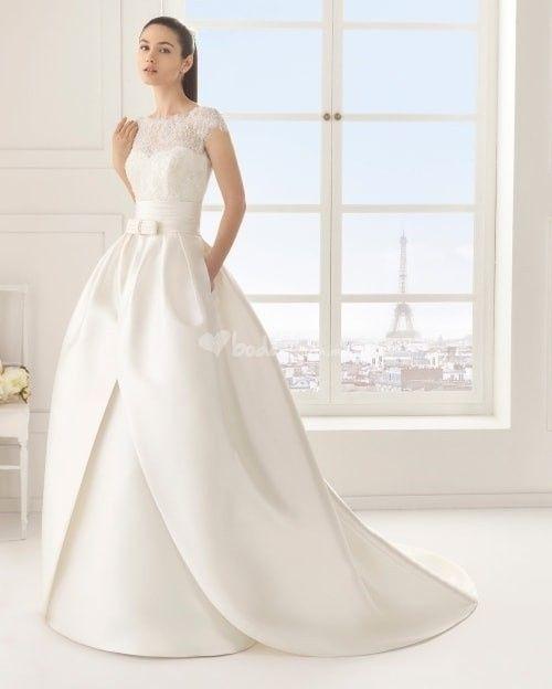 Vestidos de novia modernos elegantes