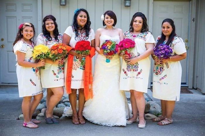 Vestidos damas mexicanas 2