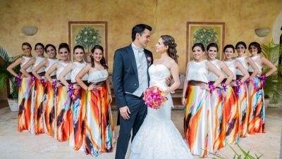 Vestidos damas mexicanas 5