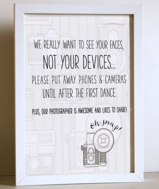 ¿Prohibirías celulares en tu boda? 4