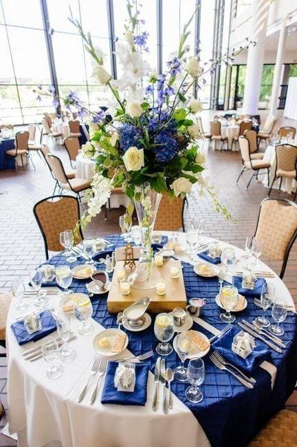 "Hermosos montajes en ""classic blue"" el color del 2020 11"