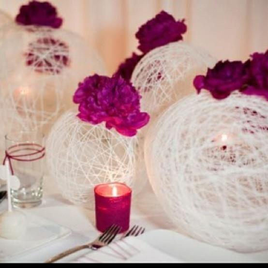 Centro de mesa para casamiento faciles de hacer imagui for Centros de mesa faciles de hacer